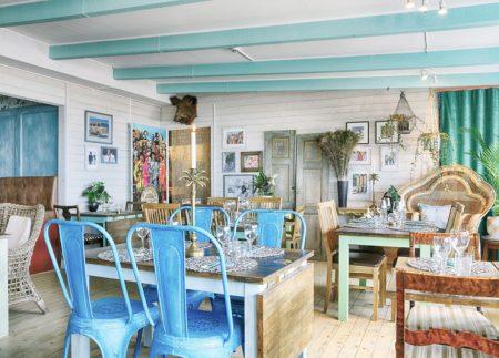 Karibisk restaurang i Olofsbo